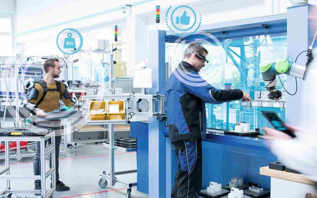 Künstliche Intelligenz verbessert Produktionsarbeit der Zukunft