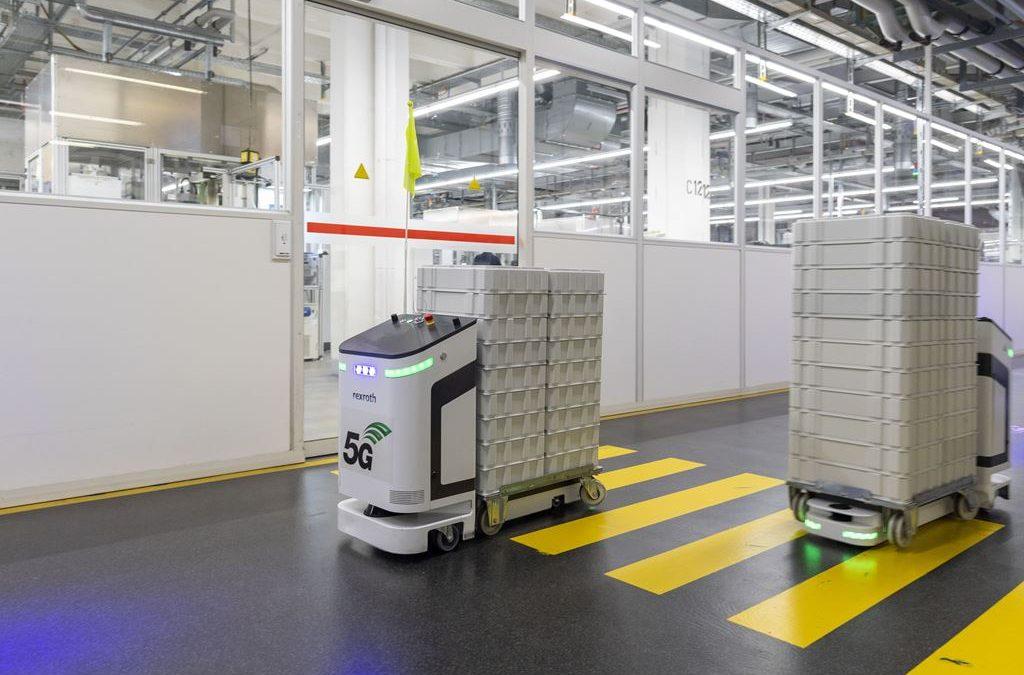 Bosch nimmt erstes 5G-Campusnetz in Betrieb