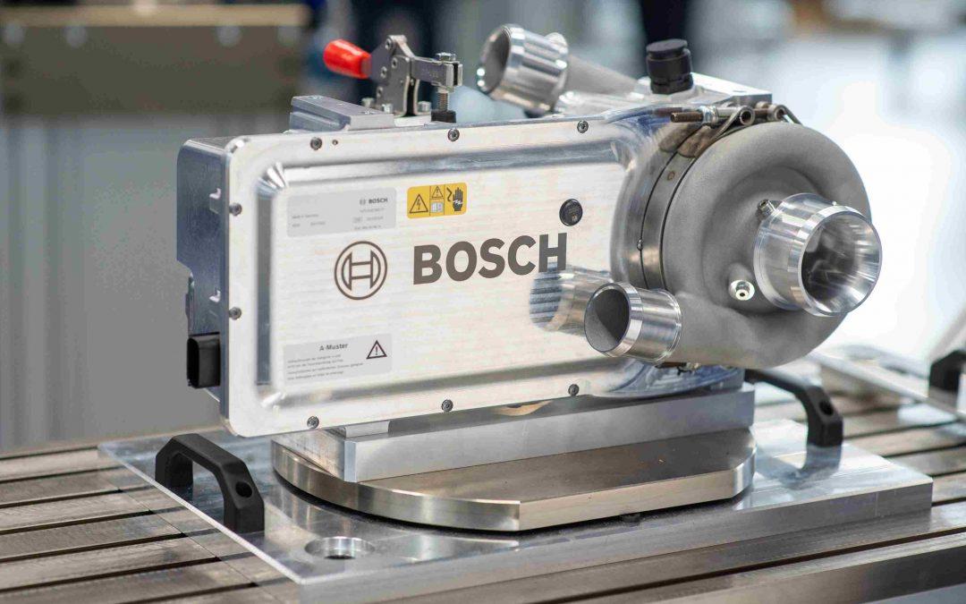 Bosch liefert Komponenten für Brennstoffzelle an cellcentric