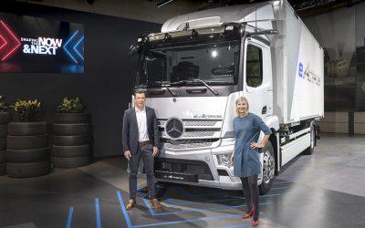 Mercedes-Benz Trucks präsentiert vollelektrische Fahrzeugen für den Straßengüterverkehr