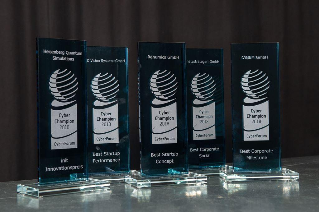 Die CyberChampions Awards des CyberForum
