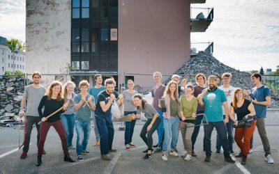 Baustart für das Collegium Academicum