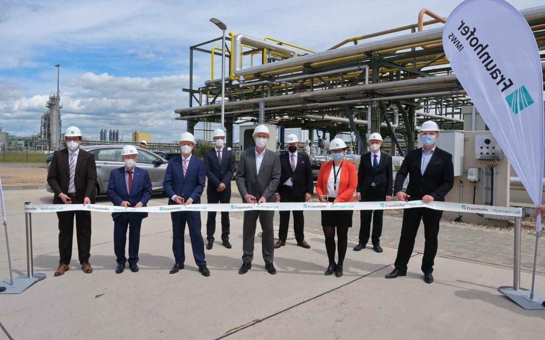 Hydrogen Lab Leuna nimmt Betrieb auf
