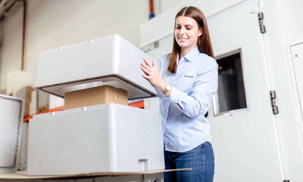 Stromlose Kühlsysteme für die Impfstoffe