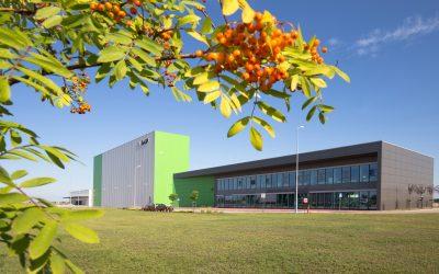 BASF betreibt Katalysatorenwerk in Polen mit erneuerbarer Energie