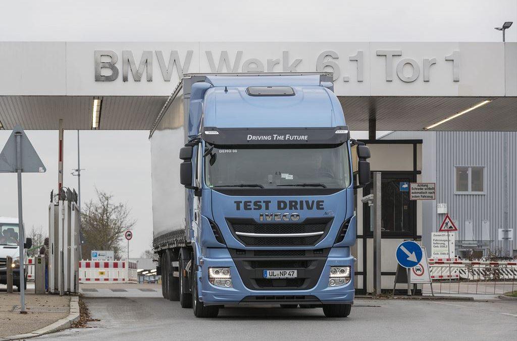 BMW-Werk Regensburg setzt auf LNG