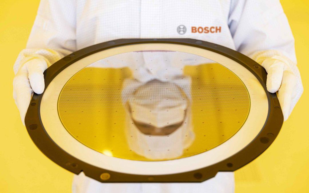 Bosch eröffnet Chipfabrik der Zukunft in Dresden