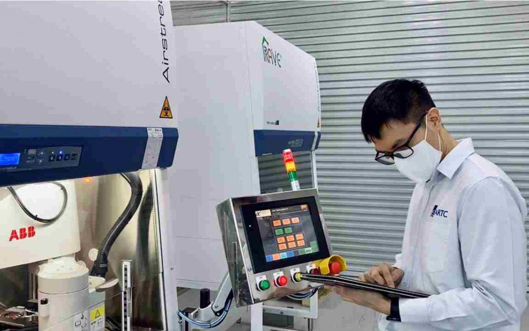 ABB-Roboter beschleunigen COVID-19-Tests